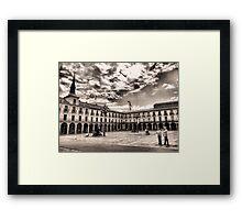 Leon's Plaza Mayor Framed Print