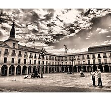 Leon's Plaza Mayor Photographic Print