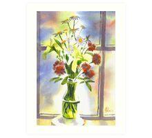 Daisies Supreme Art Print