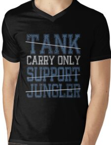 League Of Legends : Carry Only shirt Mens V-Neck T-Shirt