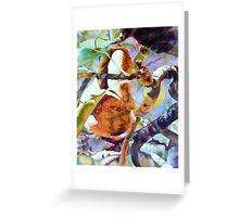 Pears Sundrenched Greeting Card