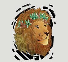 Flower Crown Lion Unisex T-Shirt