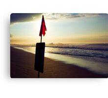 Sundown, North Shore Canvas Print