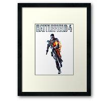 Battlefield 4 Solider  Framed Print