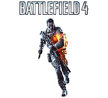 Battlefield 4 Solider  Photographic Print