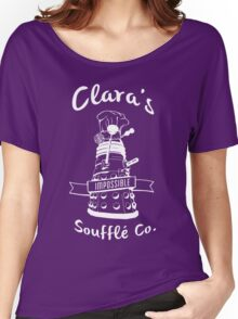 Clara's Impossible Soufflé Company (White) Women's Relaxed Fit T-Shirt
