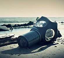 Gas Mask End of the World by DangRabbit
