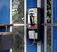 Remember the Pay Phone? Retro Phone by DangRabbit