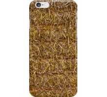 SQUARE STRAW BALE iPhone Case/Skin