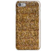SQUARE STRAW BALE iPhone Case/Skin
