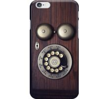 Antique Rotary Phone iPhone Case/Skin