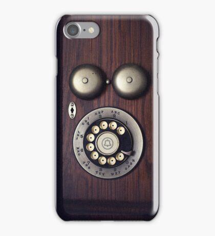 Antique Rotary Phone iPhone Case/Skin