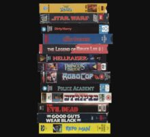 VHS Movies by FullBlownShirts