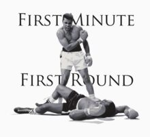 Muhammad Ali - First Minute First Round - vs. Sonny Liston by Rabee Maqbool