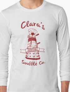 Clara's Impossible Soufflé Company (Red) Long Sleeve T-Shirt