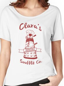 Clara's Impossible Soufflé Company (Red) Women's Relaxed Fit T-Shirt