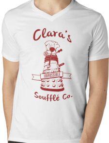 Clara's Impossible Soufflé Company (Red) Mens V-Neck T-Shirt