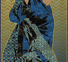 Patterned After Mucha by Lindsey Ward