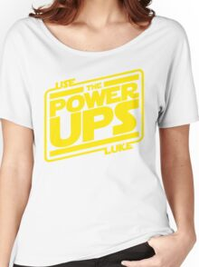 Use the powerups Women's Relaxed Fit T-Shirt