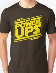 Use the powerups T-Shirt