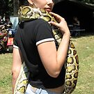 The Snake Girl by branko stanic