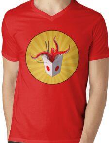 Takeout? Mens V-Neck T-Shirt