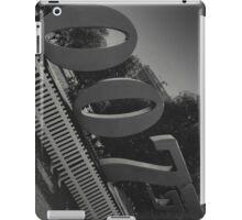 London 007 Sign iPad Case/Skin