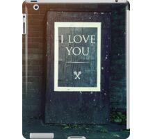 London ILY Sign iPad Case/Skin