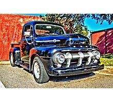 Ford F 100 HDR Photographic Print