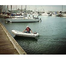 Rubber Ducky - Ferguson St. Jetty, Williamstown Vic. Photographic Print