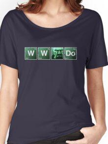 WWWD? (Grunge) Women's Relaxed Fit T-Shirt