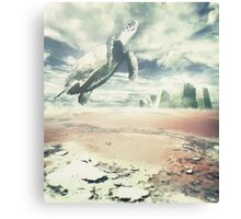 Into the sky Canvas Print