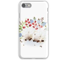 Sleeping sheeps iPhone Case/Skin