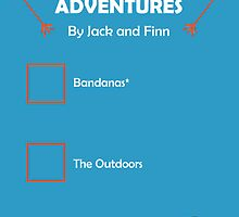 JACKSGAP Adventure Checklist by Aleks Canard