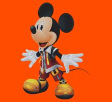 King Mickey- Kingdom Hearts by coltoncaelin