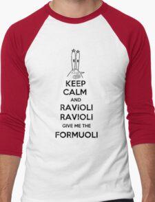 Ravioli Ravioli Men's Baseball ¾ T-Shirt
