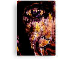 she'd been there and somehow survived Canvas Print