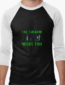 The Swarm Needs You (Chrysalis) Men's Baseball ¾ T-Shirt
