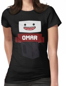 Omar :D Womens Fitted T-Shirt
