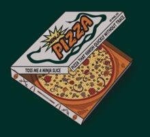Ninja Pizza - Transparent Bandana by BanzaiDesigns