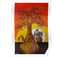 The Aussie Bottle Tree Poster