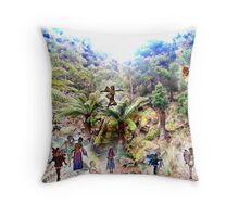 Gathering at the Gorge Throw Pillow