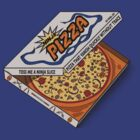 Ninja Pizza - Blue by BanzaiDesigns