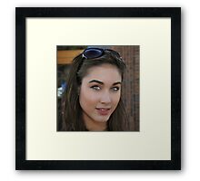 """""""Janet,Vogue Model"""" Framed Print"""