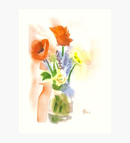 Spring Bouquet II Art Print