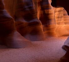 The Light Down The Hall by American Southwest Photography