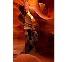 Sandstone Corridor Photographic Print
