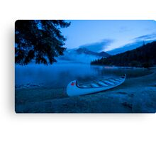 Just Before Sunrise  Canvas Print