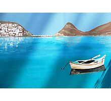 A Greek Island Photographic Print