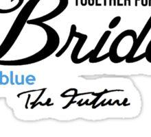 Bride Word Cloud I Said Yes! Sticker